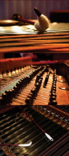 cymbaal (ook cimbalom genoemd)